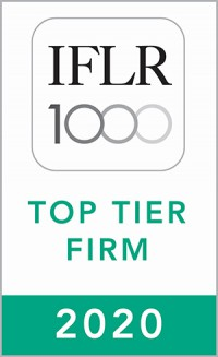 IFLR Top Tier Firm 2020