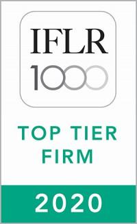IFLR Top Tier Firm 2020
