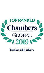 Top Ranked Chambers Global 2019